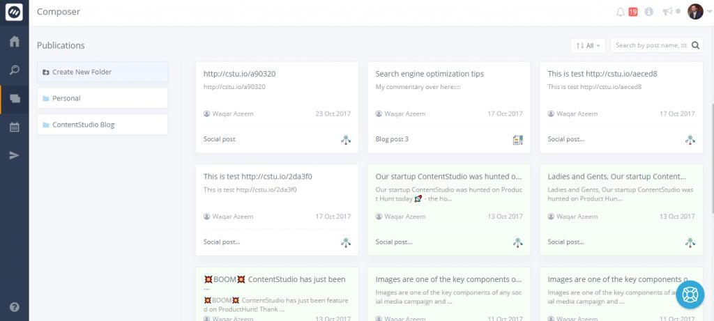 draft blog and social posts