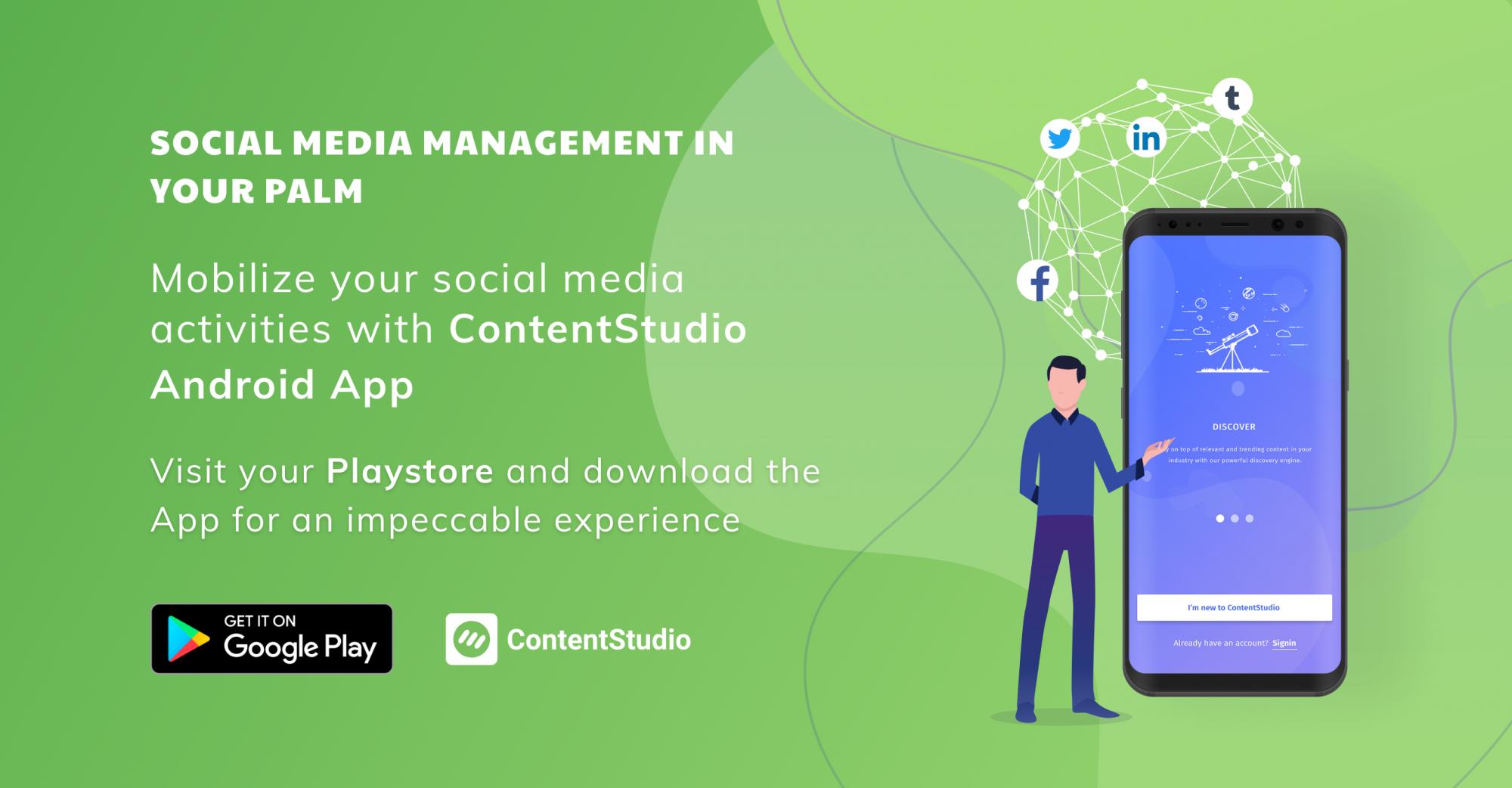 ContentStudio Android App