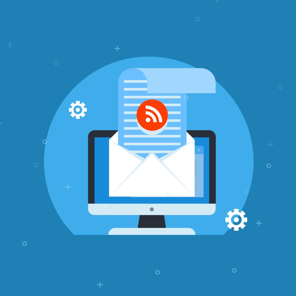 RSS in email- ContentStudio
