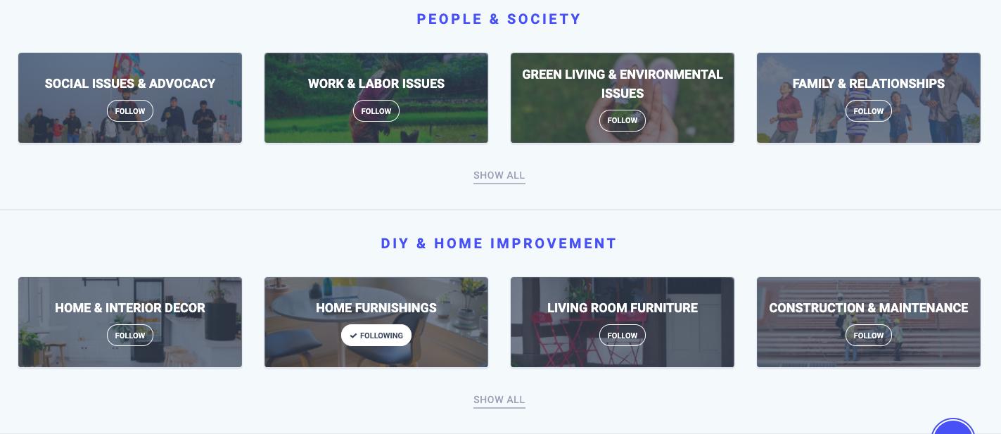 Discovery Topics - ContentStudio