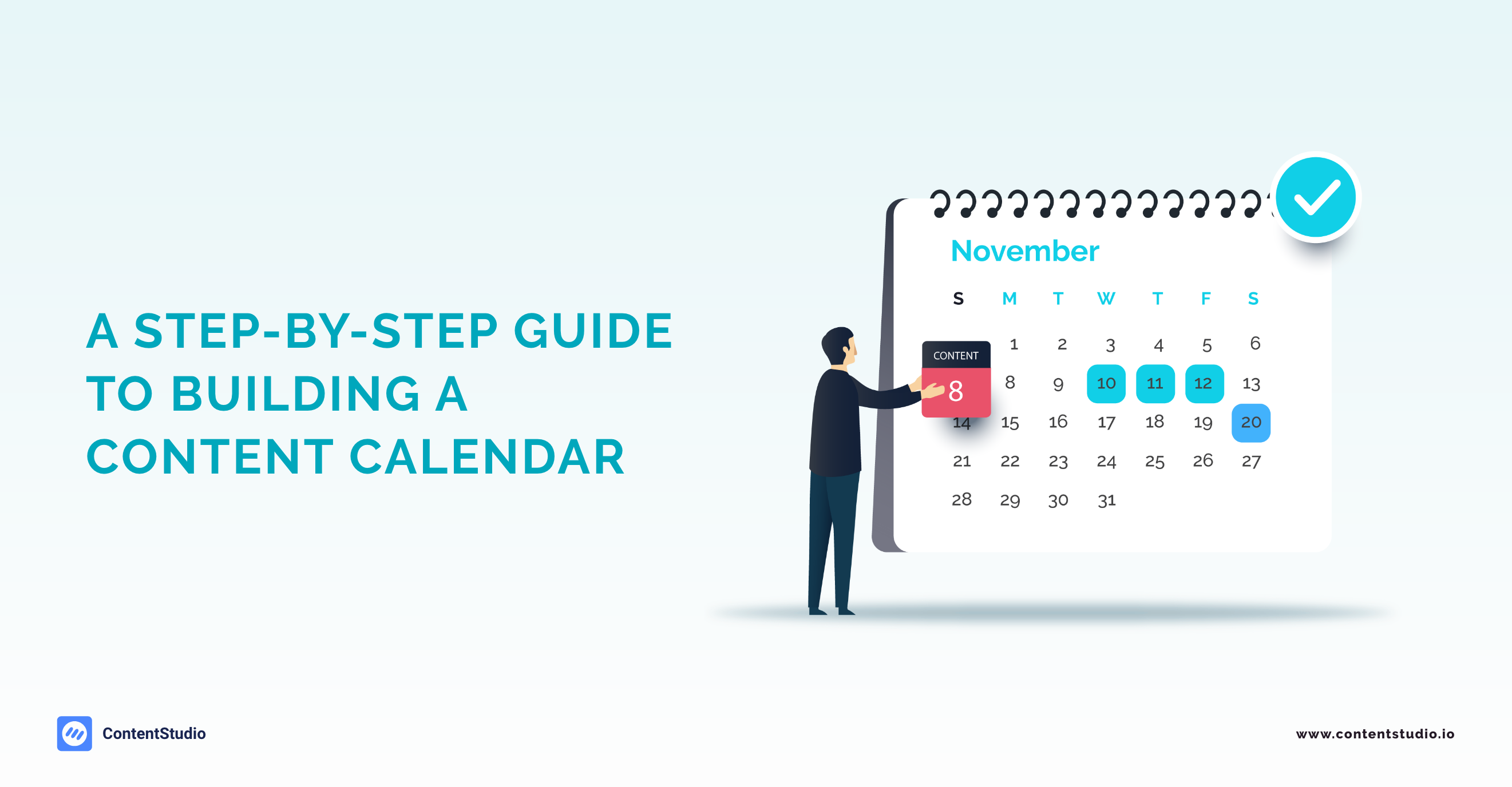 Content calendar - ContentStudio
