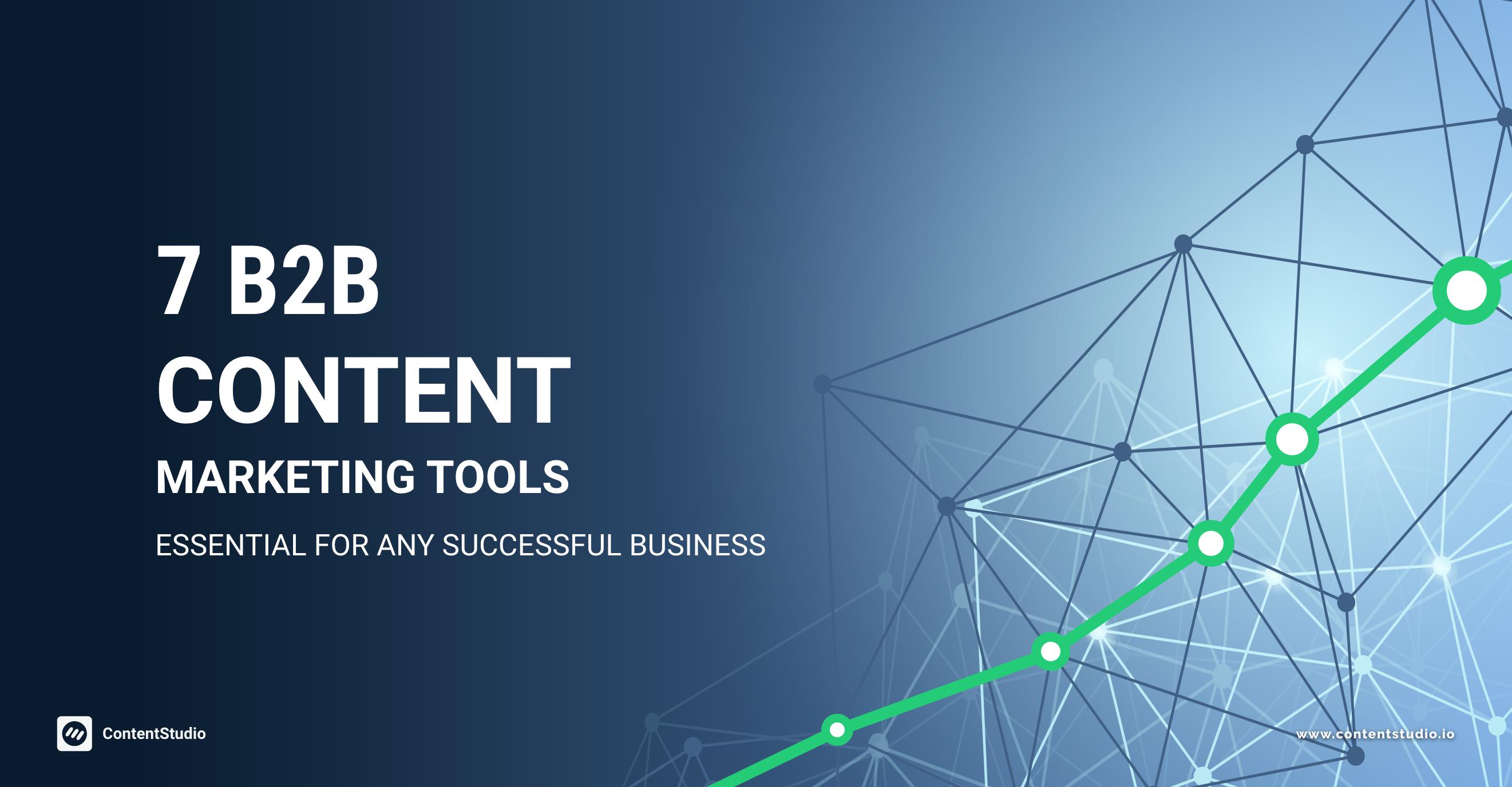 b2b content marketing tool - CotnentStudio