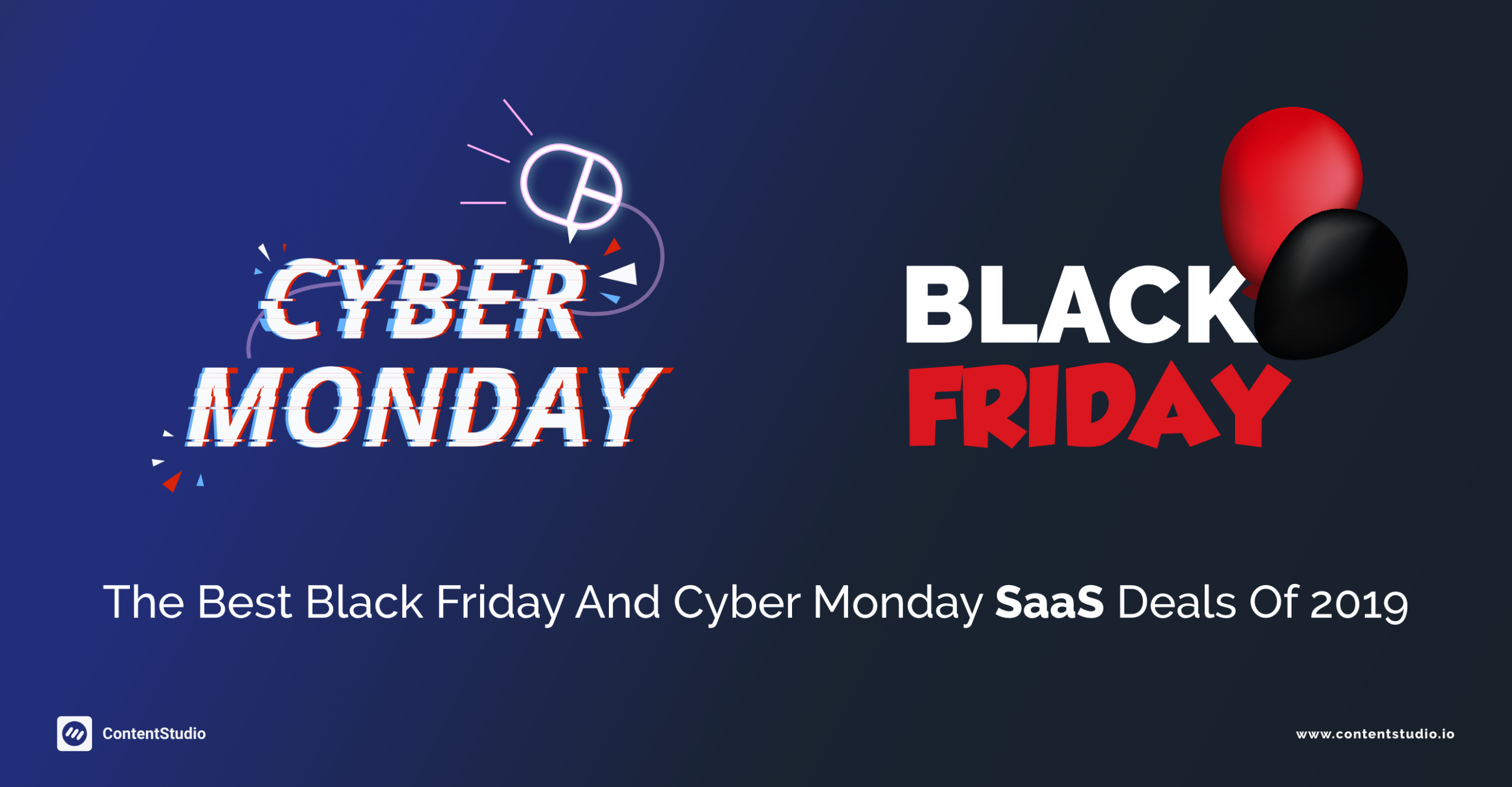 Black Friday and Cyber Monday SaaS Deals