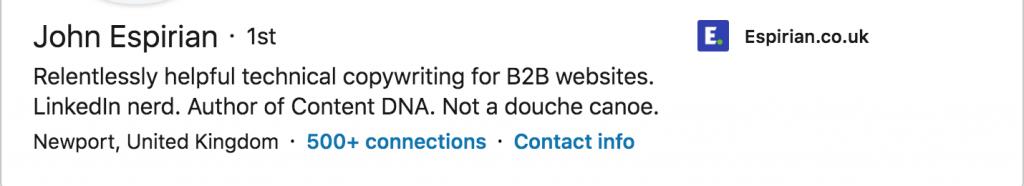 B2b on LinkedIn