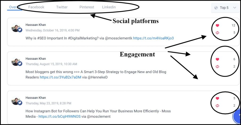 social media platform - ContentStudio