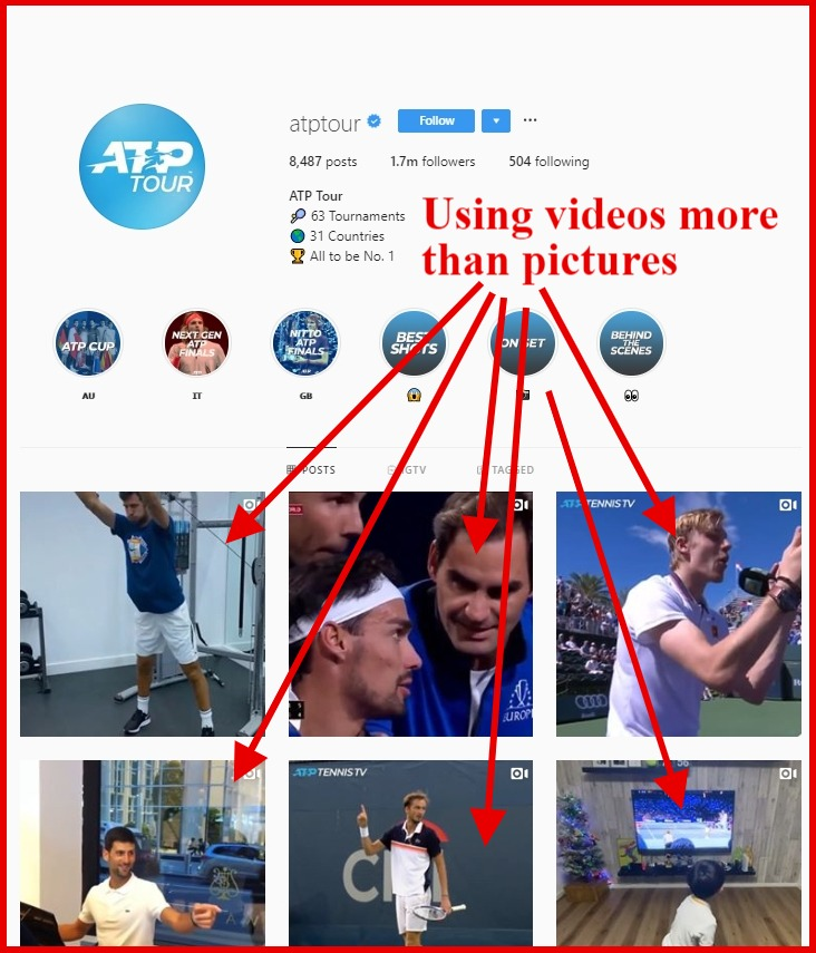 using video more than pictures