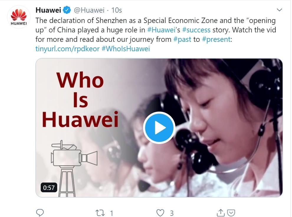 Huawei on Twitter