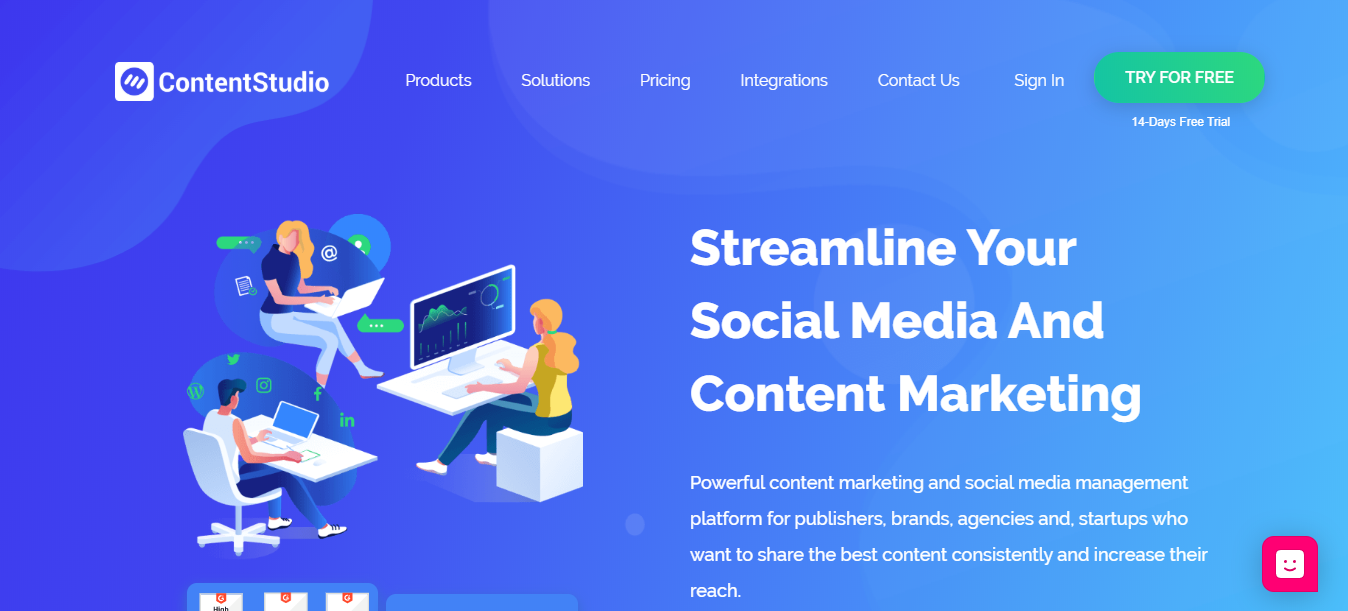 Content marketing tool-ContentStudio