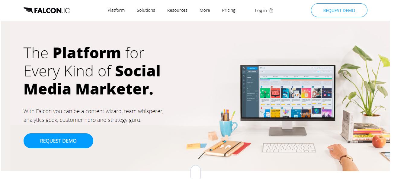 Falcon.io- social media tool
