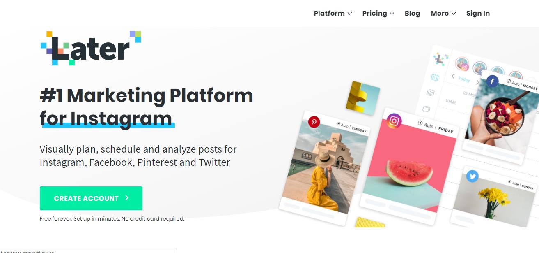 later-social media platform