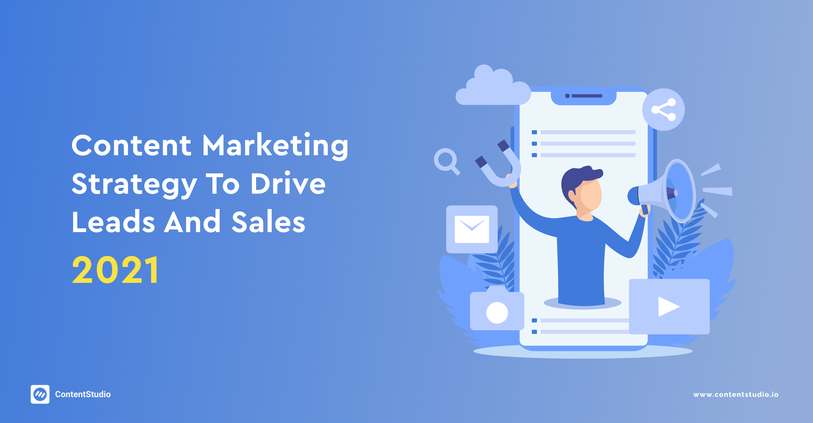 content marketing strategy to drive leads and sales
