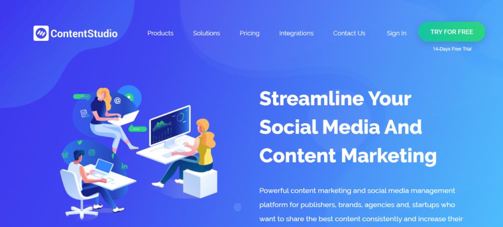 contentstudio-social media posting tool