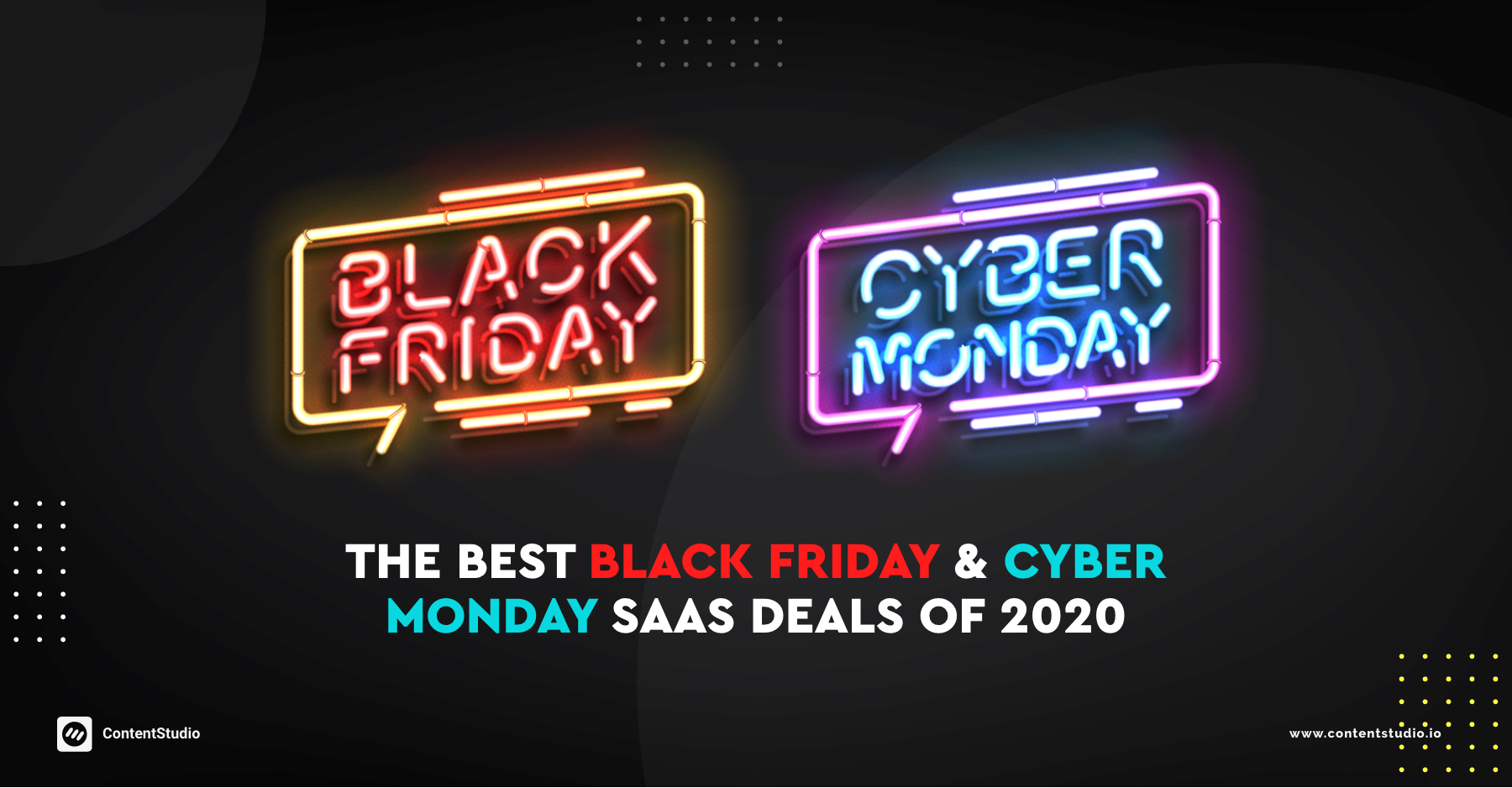 The Best Black Friday & Cyber Monday SaaS Deals of 2020