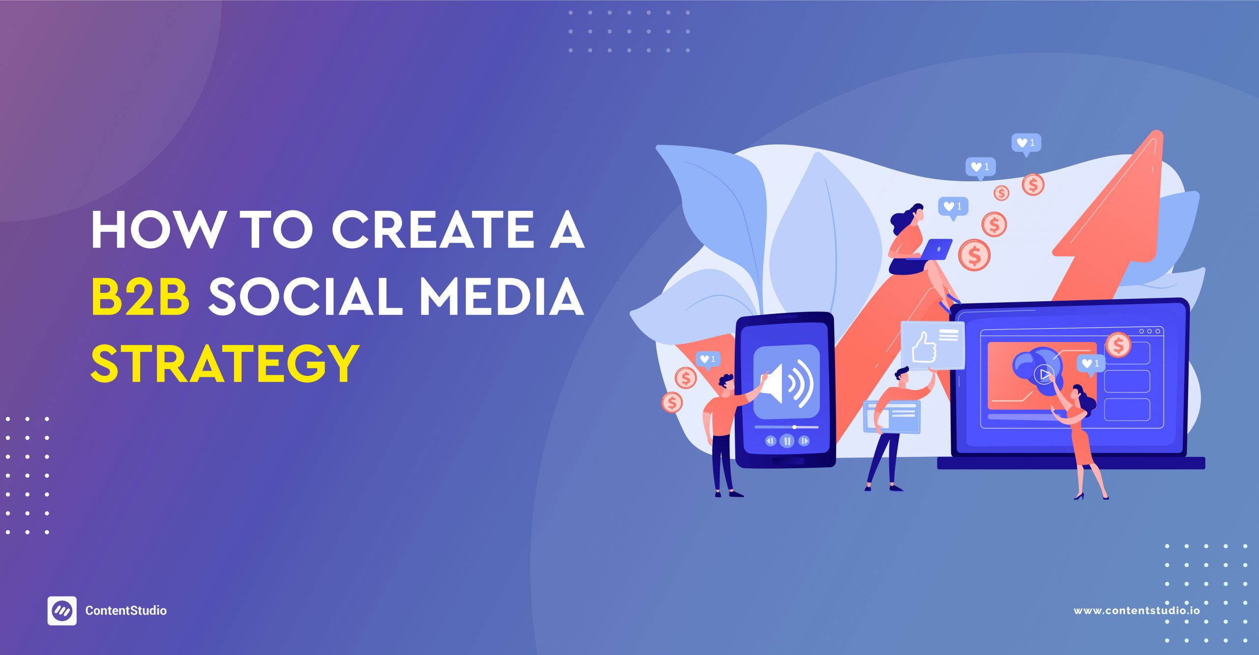 How to create a b2b social media strategy