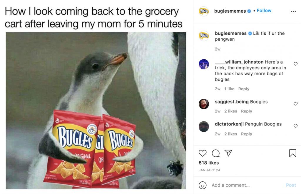 bugles meme game