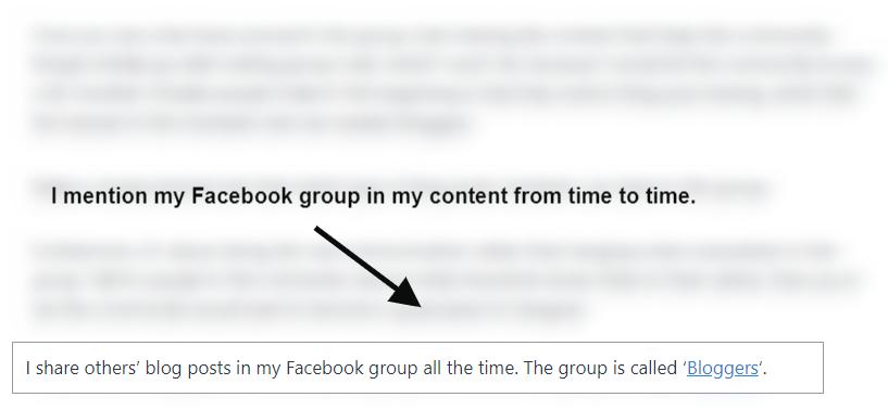 avoid facebook group spam
