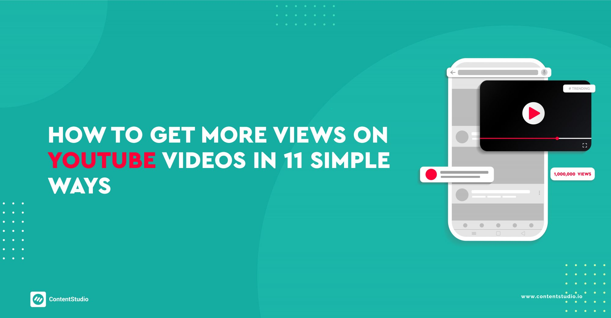 how to get more view on youtube