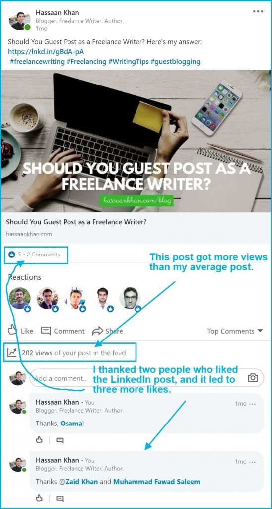 get linkedin followers and engagement