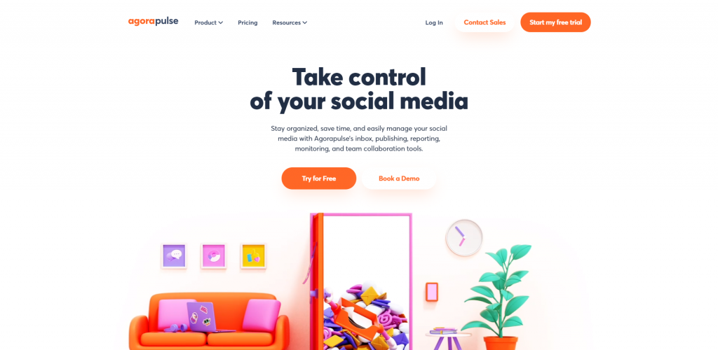 AgoraPulse-Social Media Analytic