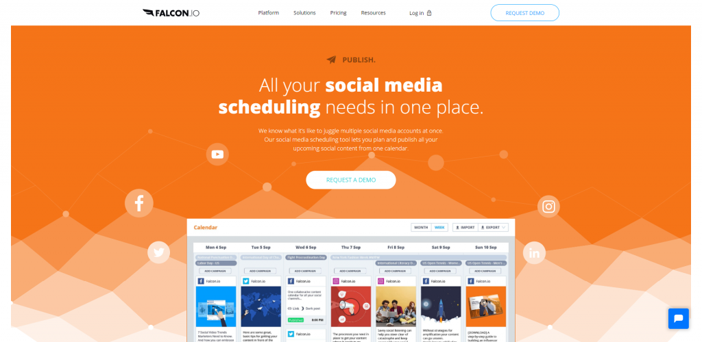 Falcon.io-Social Analytic tool