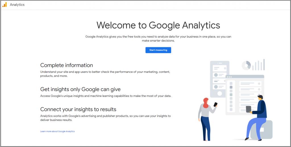 google-analytics- Analytics tool