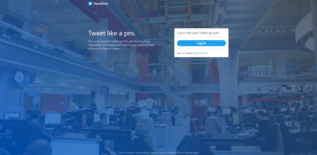 tweetdeck- Analytic tool