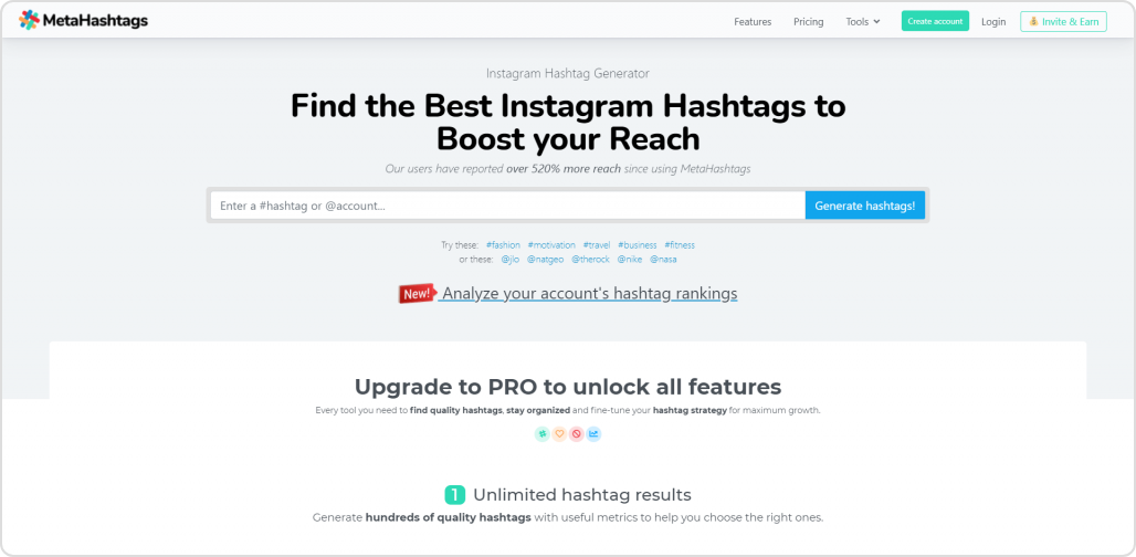 meta hashtag-Instagram hashtag tool