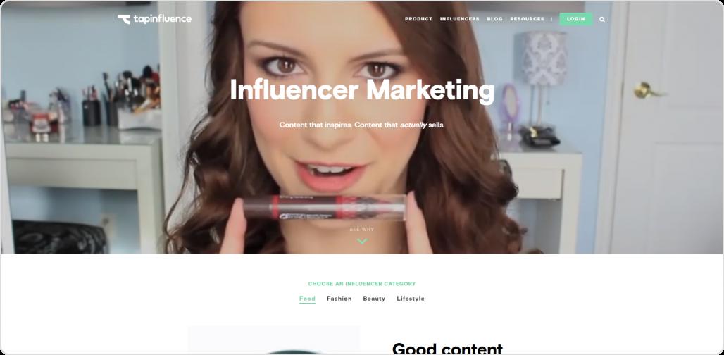 Tapinfluence-IG influencer