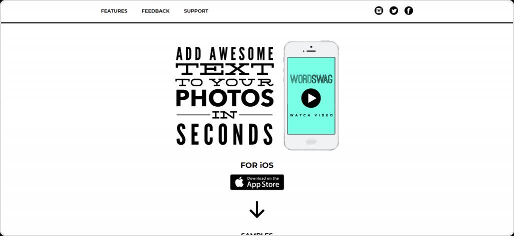 Wordswag-Instagram tools