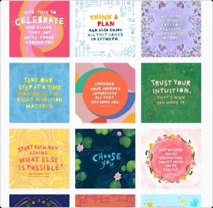 Mindful Words Illustrator