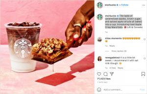Starbucks Machiato - Social media marketing