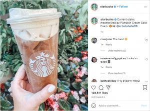 Starbucks- Social media marketing
