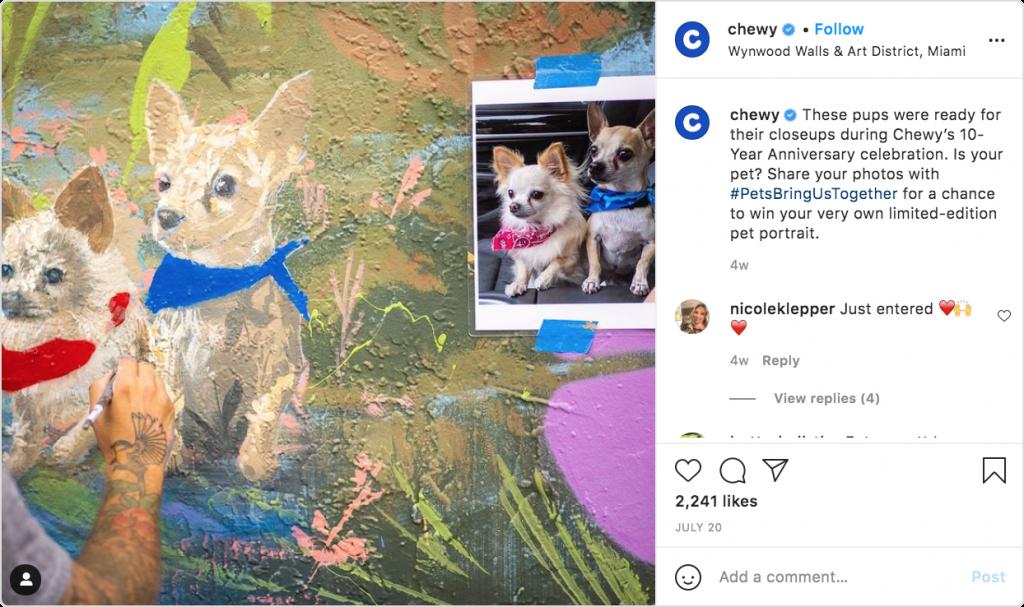 Chewy- PetsBringUsTogether
