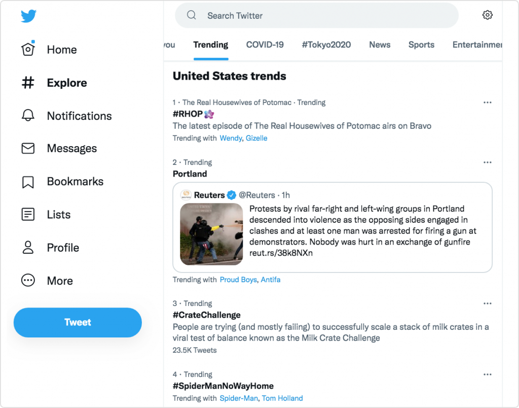 United states trends