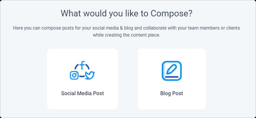 social media post- Contentstudio